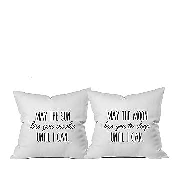 """Amazon.com: Funda de almohada con leyenda: """"Oh ..."""