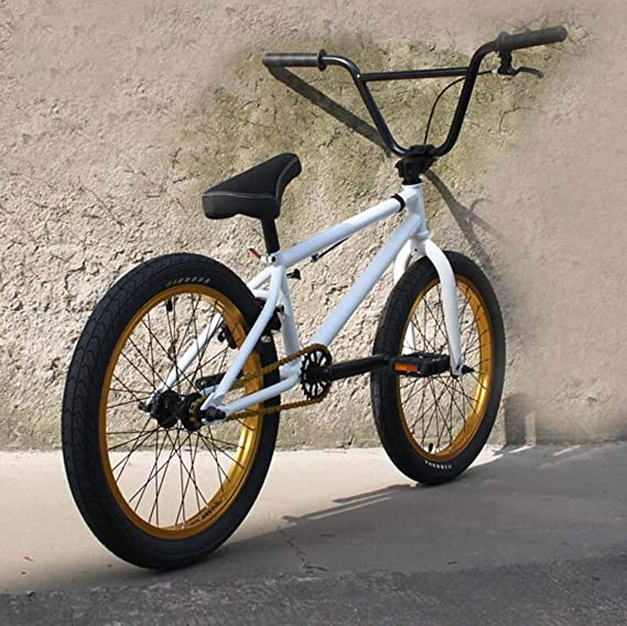Bicicleta BMX Bikes de 20 pulgadas, cuadro de acero al carbono de ...
