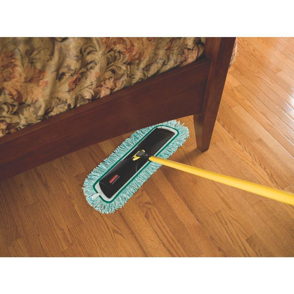 Dust mop for wood floors - Amazon Com Rubbermaid Commercial 1868698 Light Commercial Microfiber Dust Mop 18 Length Green Industrial Scientific