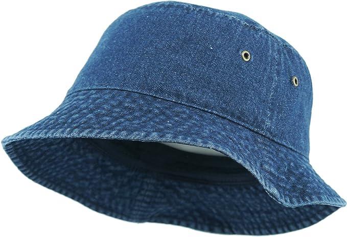 f3929057b04 KBETHOS Unisex 100% Washed Cotton Bucket Hat Summer Outdoor Cap