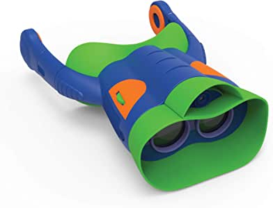 Educational Insights GeoSafari Jr. Kidnoculars Extreme, Kids Binoculars With Audio, Perfect Outdoor Toy For Ages 5+