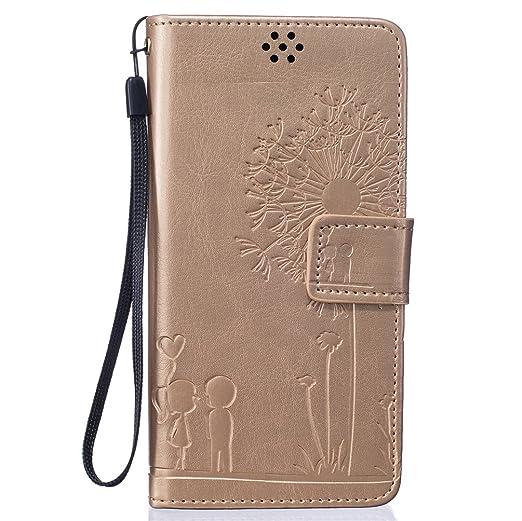 5 opinioni per KATUMO® P8 Lite Cover in Pelle, Protettiva Flip Cover Per Huawei P8 Lite /