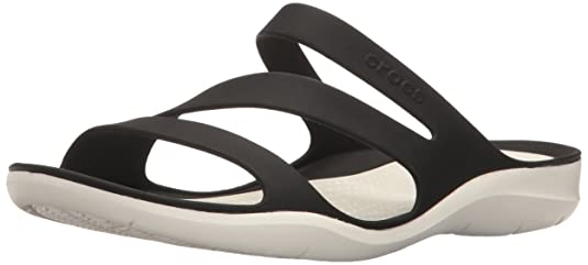 Crocs Swiftwater Women Sandal in Black Fashion Sandals at amazon
