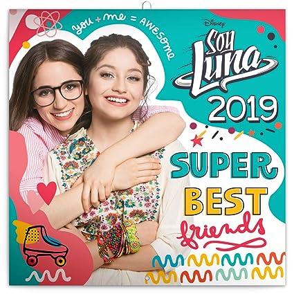 Soy Luna Calendario 2019 - Disney - Calendario de pared para ...