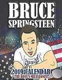 Bruce Springsteen 2019 Calendar: The Boss's Milestones