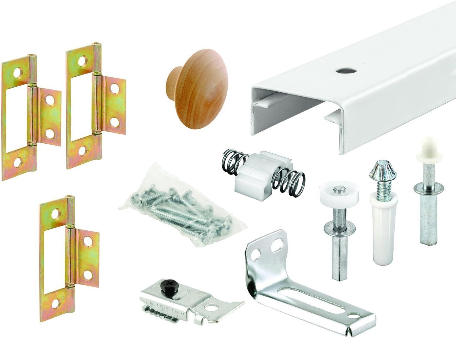 Prime-Line Products 161794 Bi-Fold Closet Track Kit 36-Inch