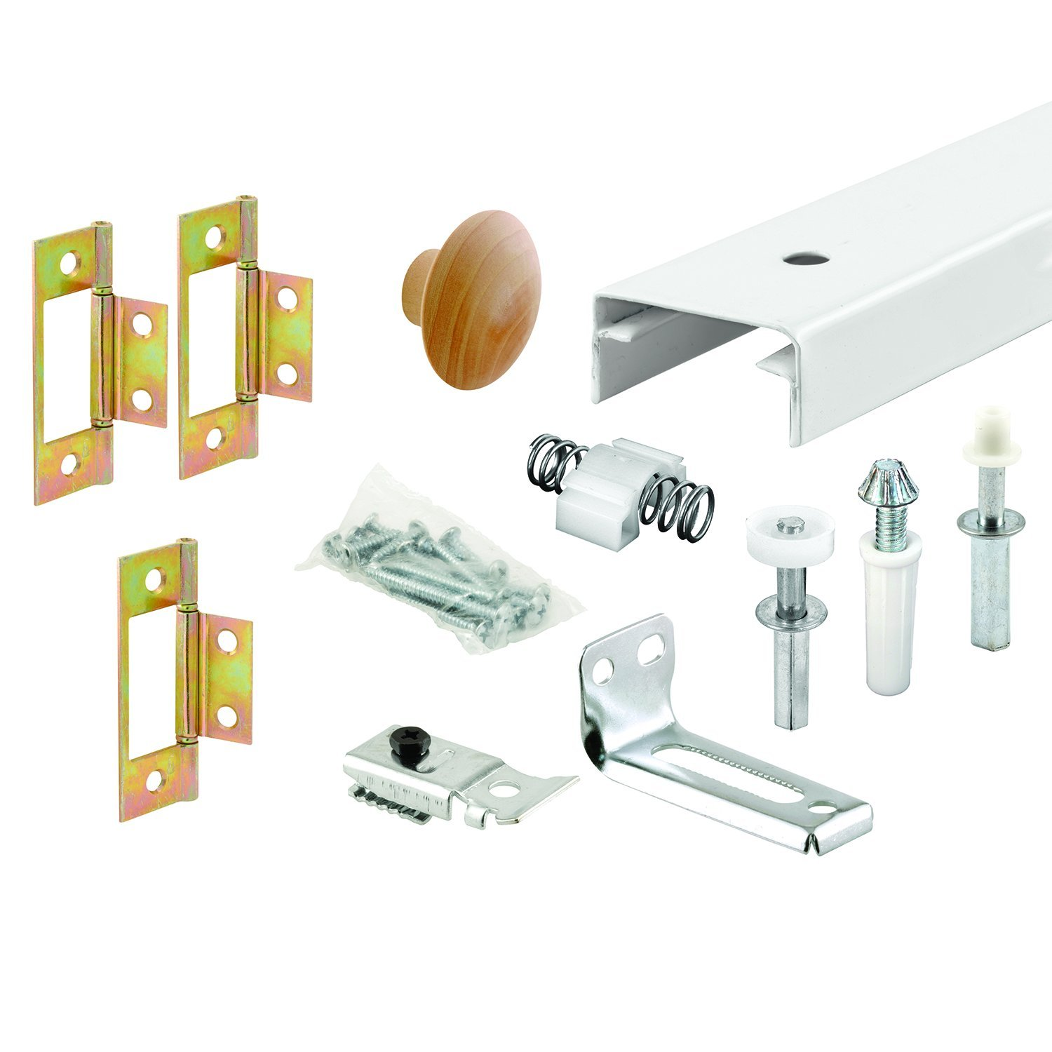 Prime-Line Products 161794 Bi-Fold Closet Track Kit, 36-Inch
