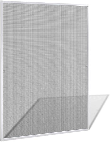 5pc set Webla Filets de Moustiquaire pour Fen/être Insect Moustiquaire Filet de Fen/être 1.3 M X 1.5 M avec Rouleaux de Ruban Adh/ésif