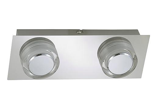 Badlampen wand  Briloner Leuchten Badezimmerlampe, LED Badlampe, Badleuchte ...