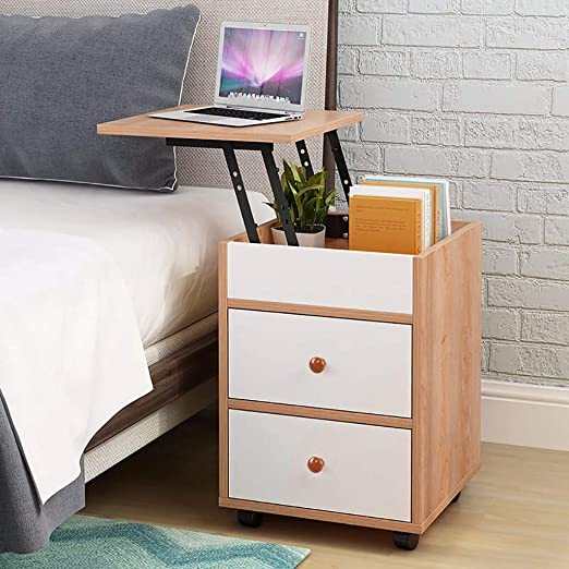 Modern Nightstand Bedside End Table Bedroom Side Stand Night Stand Drawer Shelf