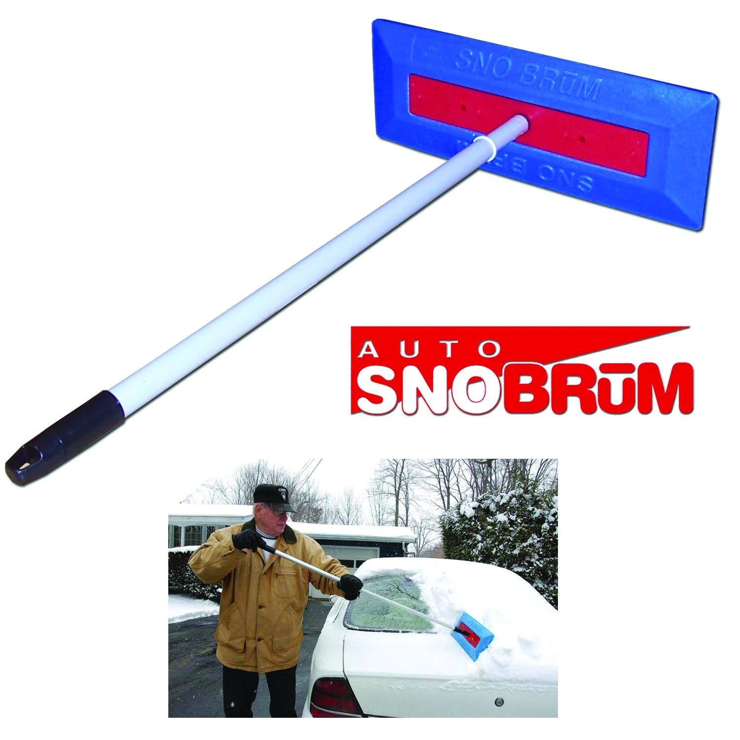 Discount Snow Moover 39 Extendable Snow Brush With Squeegee Ice Scraper Foam Grip Auto Snow ...