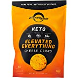 Planet Keto Elevated Everything Cheese Crisps - 2.1oz bags; High Protein, 0g Carbs, Gluten Free (pack of 3)