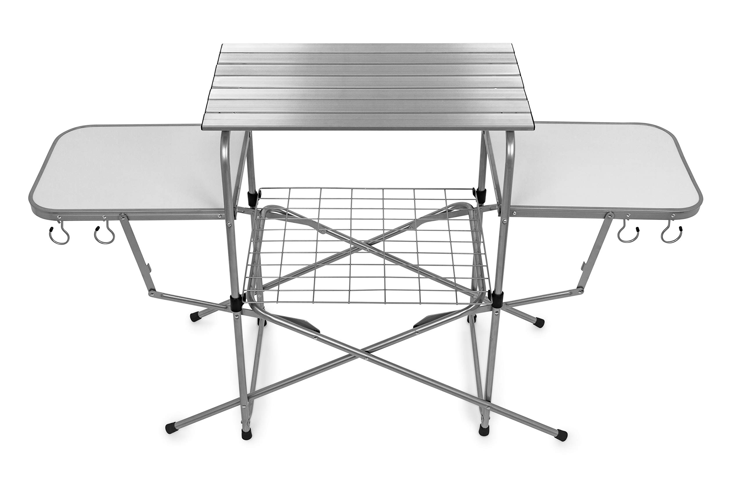 Camco 57293 Deluxe Folding Grill Table by Camco