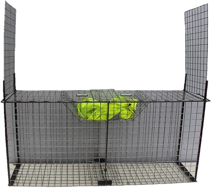 TRAPGALLIER pi/ège Cage Renards 2 entr/ées /à app/ât Fabrication Fran/çaise