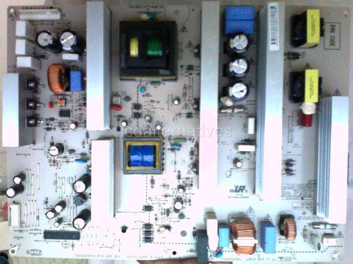 LG 42PG20-UA Plasma TV Repair Kit, Capacitors Only, Not the Entire Board