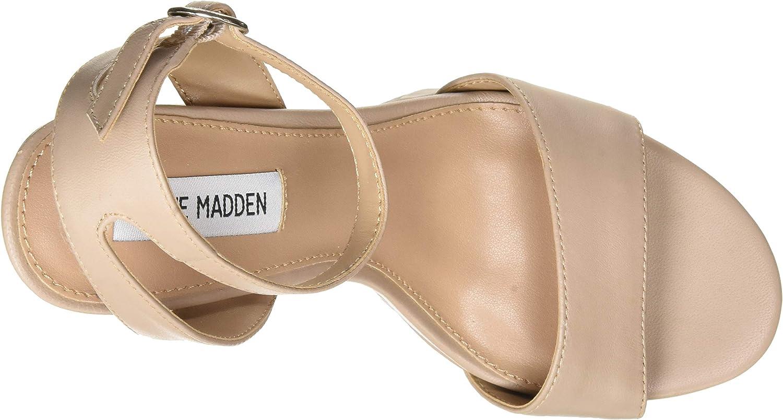 Steve Madden Gesture, Sandale à Talon Femme Blush