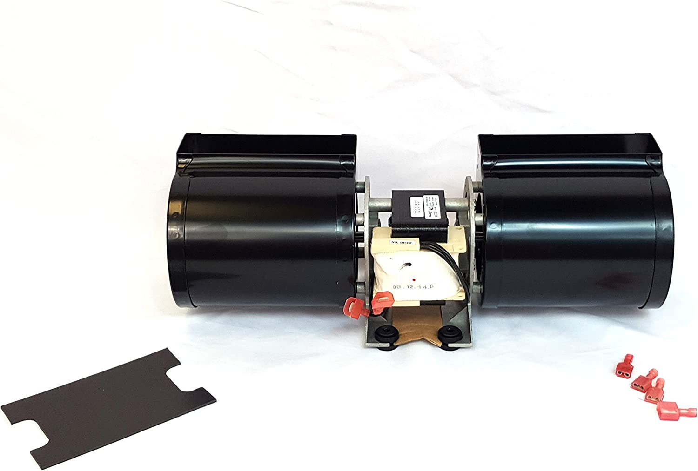 Quadrafire Stove Fan Room Air Blower Fan Pellet, Wood & Gas 812-4900 Premium Replacement,, SALE!