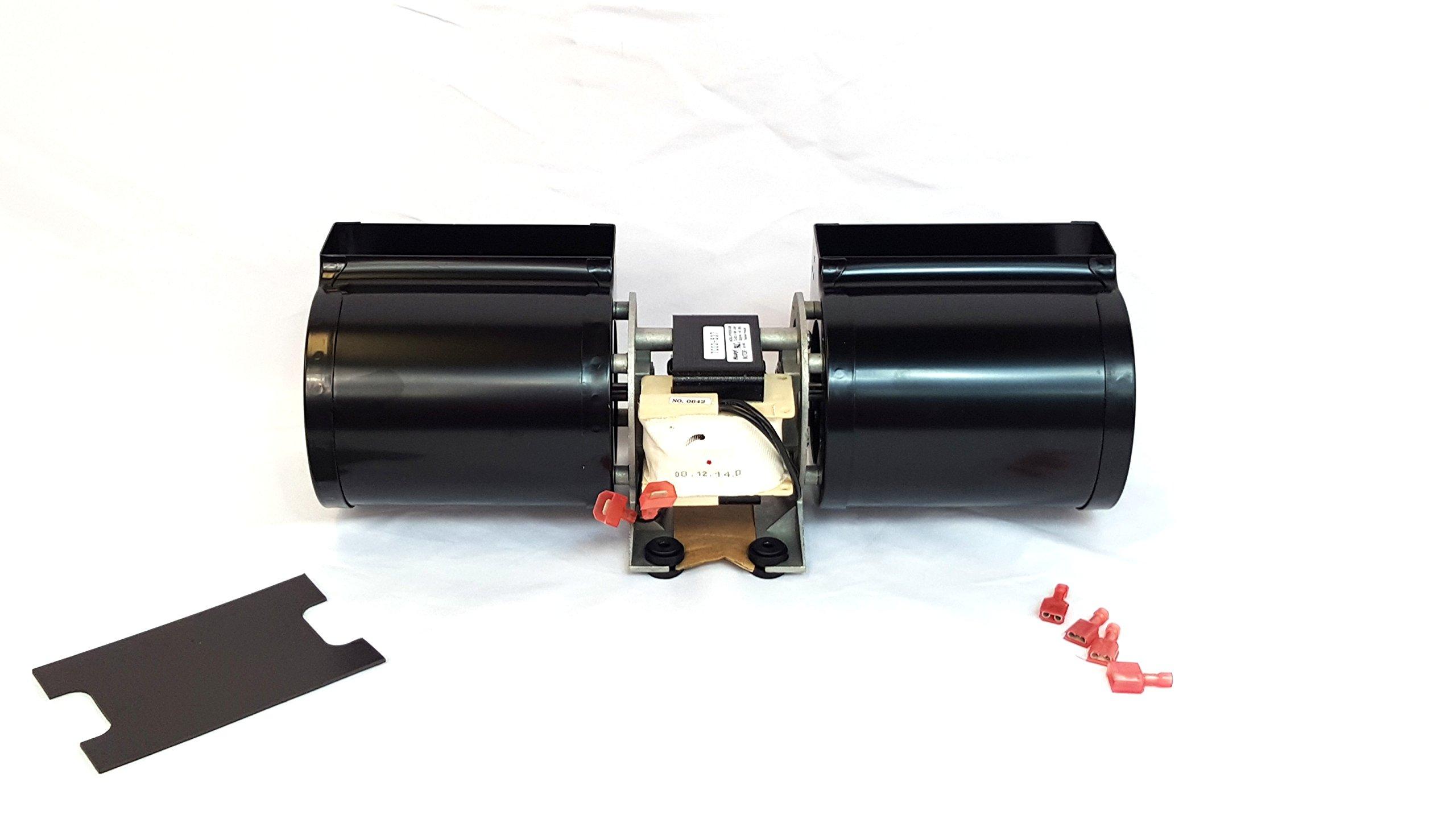 Quadrafire Stove Fan Room Air Blower Fan Pellet, Wood & Gas 812-4900 Premium Replacement,, SALE! by QuadraFire