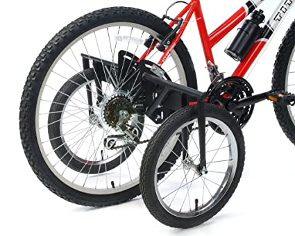 272fb7e60b2 Image Unavailable. Image not available for. Color: BIKE USA Stabilizer Wheel  Kit