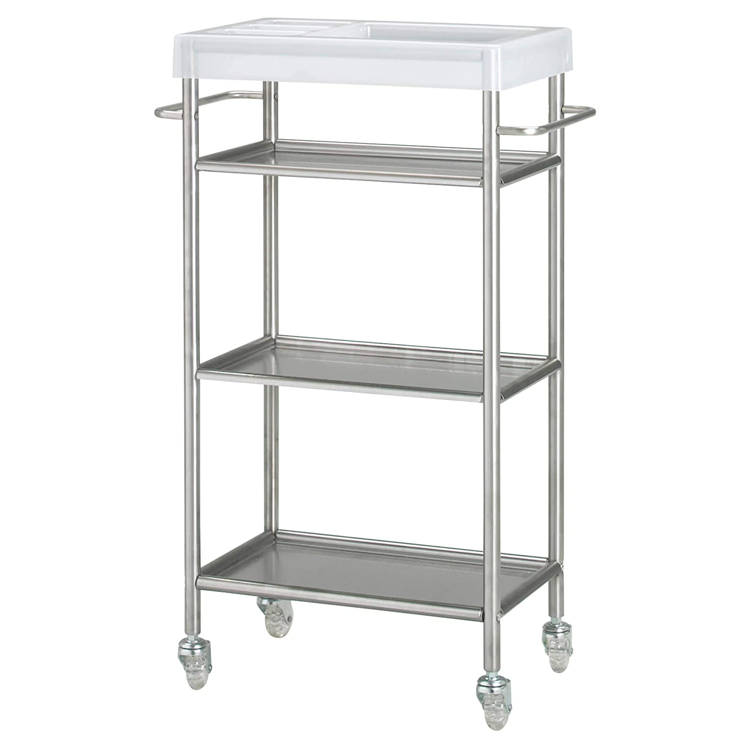 IKEA.. 601.714.33 Grundtal Cart, Stainless Steel