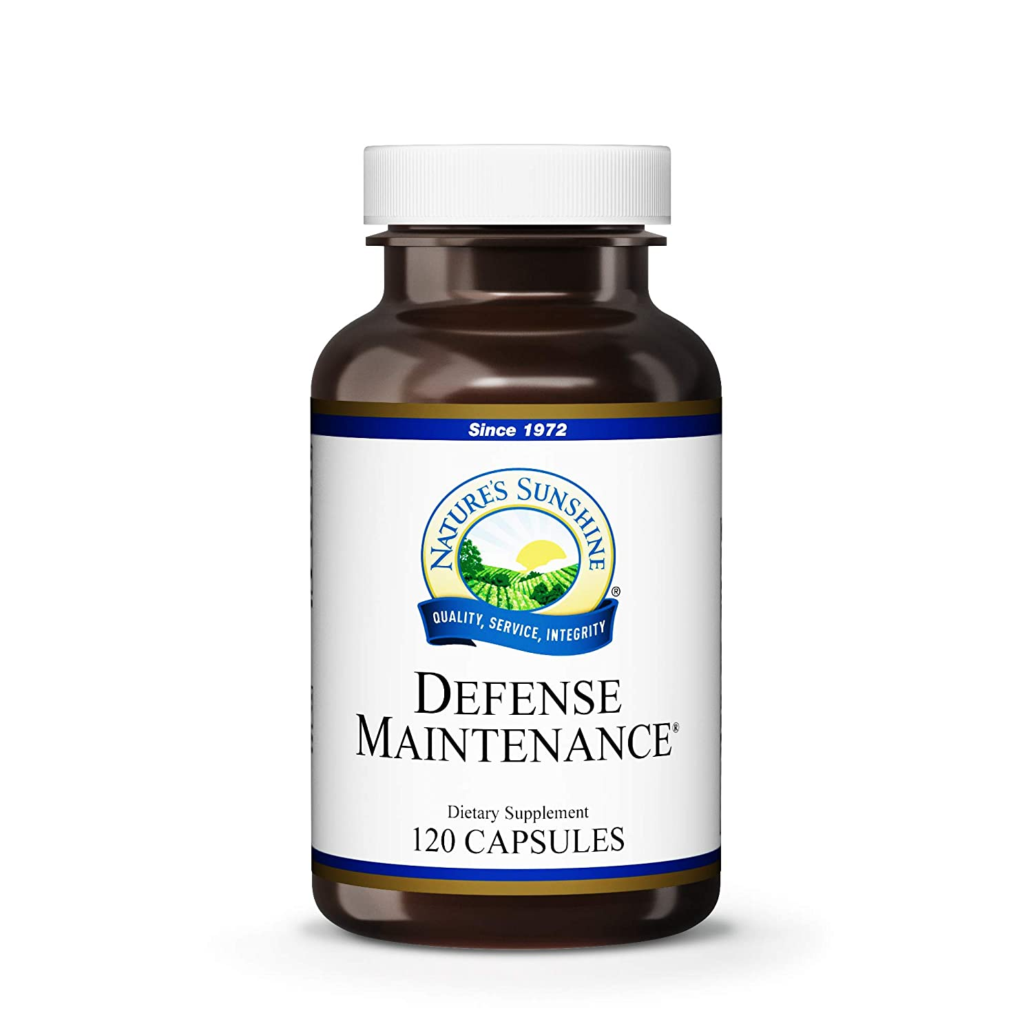 Nature's Sunshine Defense Maintenance, 120 Capsules | Provides Nutritional Support to The Immune System, Contains Antioxidants and Cruciferous Vegetables, and Provides Vitamins A, C and E
