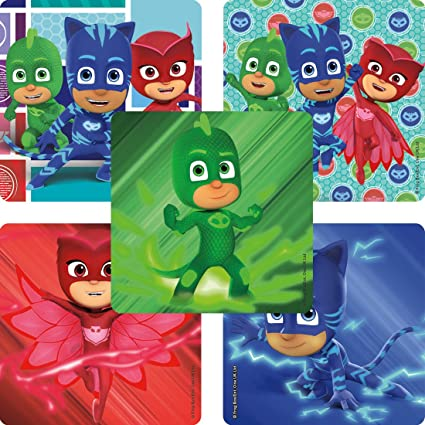 PJ Masks Stickers - Prizes and Giveaways - 100 per Pack