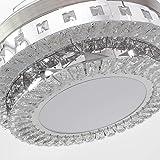 RS Lighting Modern Crystal Ceiling Fan Lights 42