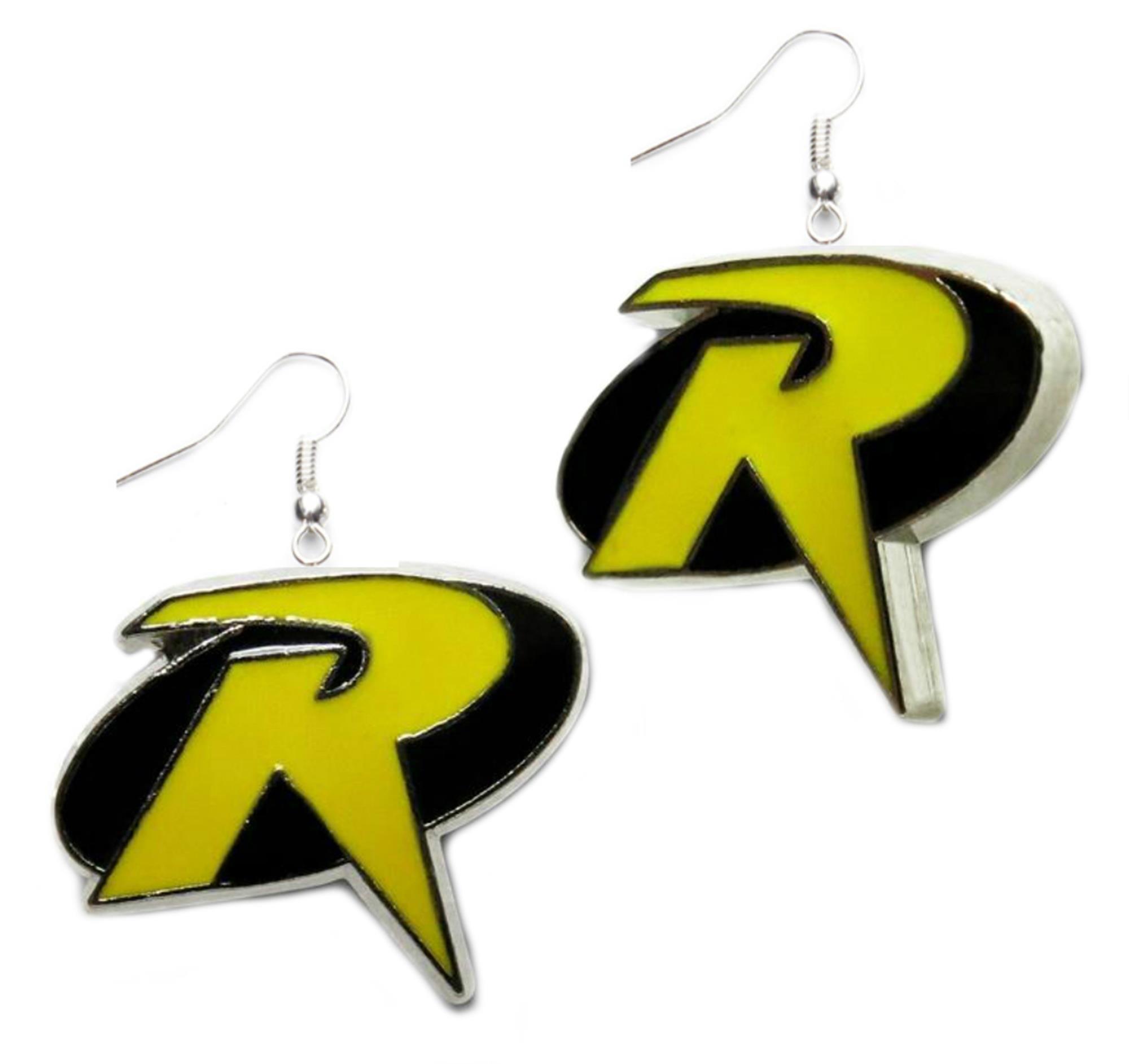 Outlander DC Robin Logo Earring Dangles In Gift Box