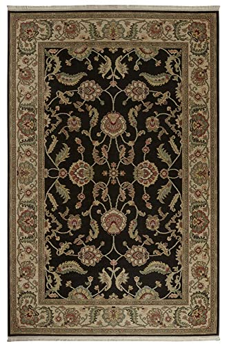 Karastan Ashara Agra Black Rug Rug Size 8 8 x 12