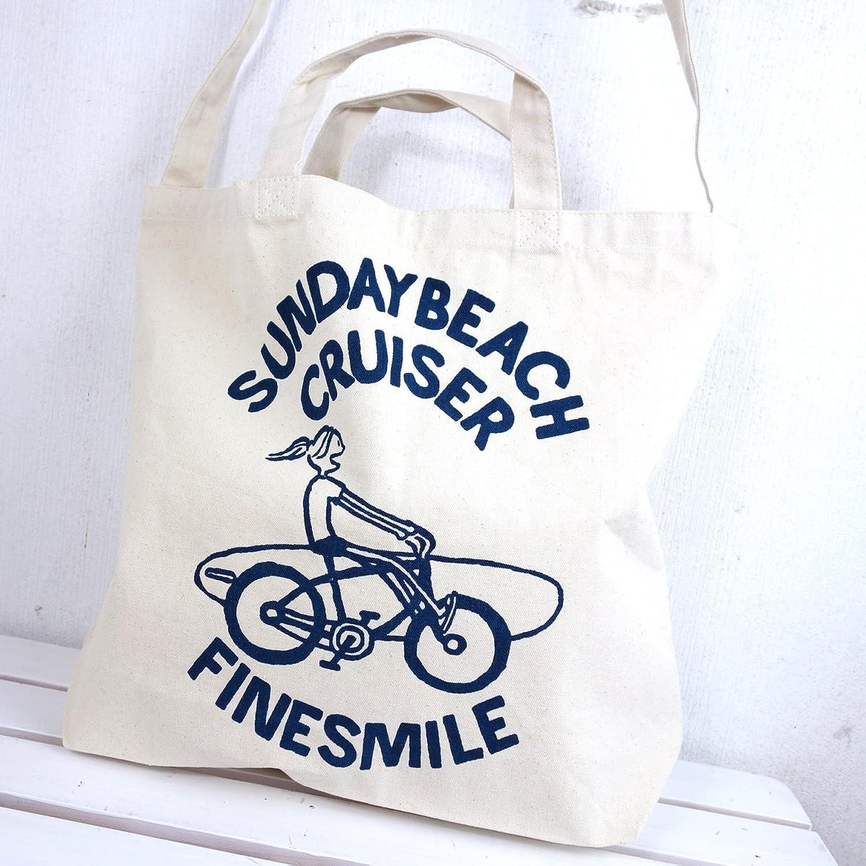 サンデービーチクルーザー SUNDAY BEACH CRUISER サーファーガール キャンバス2ウェイショルダーバッグ