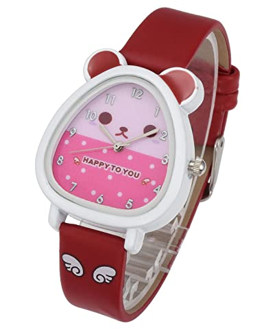 Watches Cartoon Dog Children Digital Electronic Toy Flower Watch Kids Girls Boys Students Sports Clock Child Watches Quartz Wristwatches
