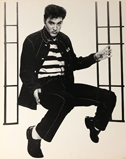 amazon com elvis presley poster jail house rock print 16 x20