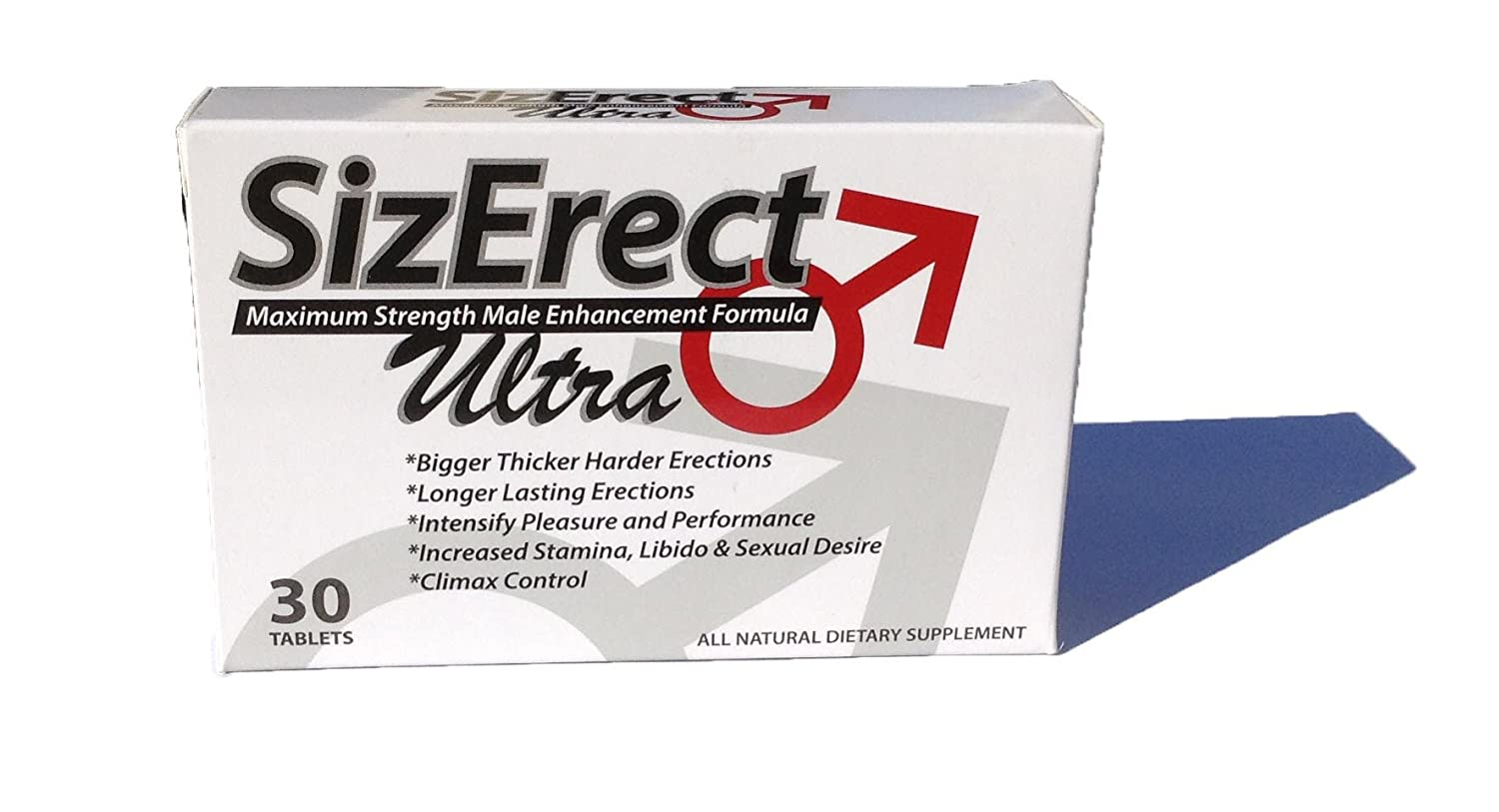 Amazon.com: SizErect Ultra - Maximum Strength Male Sexual Enhancement Pills - New & Improved Fast Acting, Long Lasting Formula - Limited Supply: Health ...