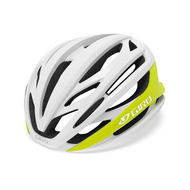 Giro Syntax Rennrad Fahrrad Helm schwarz gelb 2019  Größe  M (55-59cm)