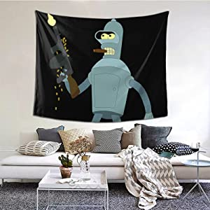 Futurama Tapestry Wall Hanging Magic Tapestry For Home Decor Bedroom Living Room 60×51inch