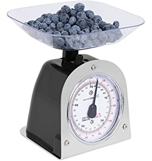 Internetu0027s Best Mechanical Kitchen Food Weight Scale With Bowl | Accurate  Measurements | Weighs Up 11