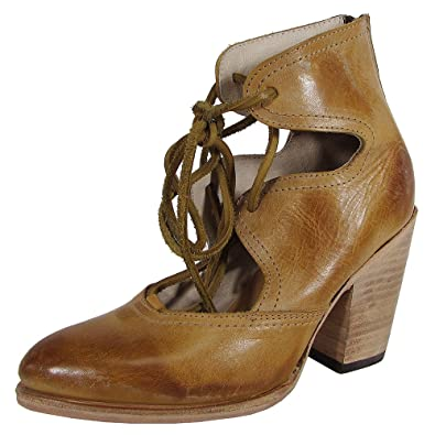 Women's Flame Lace Up Booties