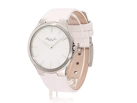 Amazon.com: Kenneth Cole New York Womens KC2704 Slim Round Analog MOP Dial Thin Watch: Kenneth Cole: Watches