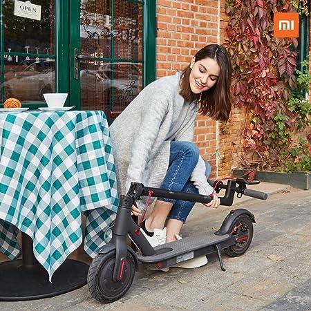 Xiaomi Mi Scooter - Patinete eléctrico plegable, 30 Km alcance, 25km/h