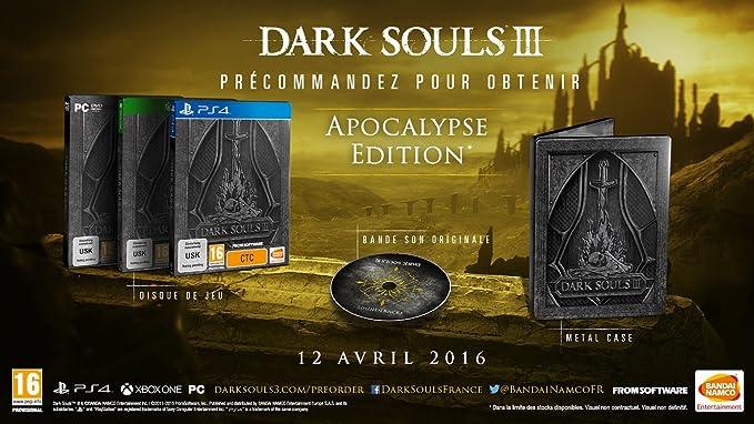 Dark Souls III - Apocalypse Edition [Importación alemana]: Amazon ...