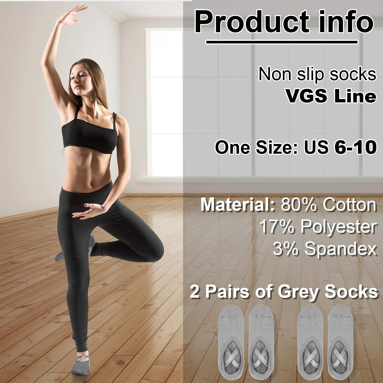 Yoga Socks for Women Socks with Grips For Pilates Ballet Barre Exercise Dance