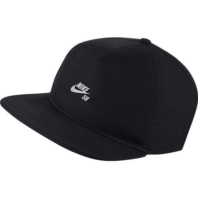 Nike U SB Dri-Fit Gorra de Tenis, Hombre, Negro (Black/Dark ...