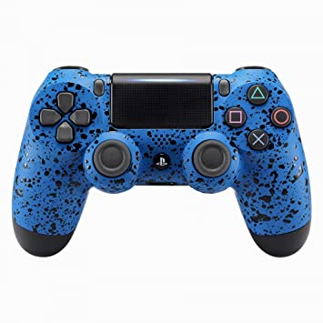 eXtremeRate Carcasa Mando PS4 Funda Delantera Placa Frontal Cubierta Reemplazable Esmerilada Antideslizante para Mando del Playstation 4 PS4 Slim Pro ...