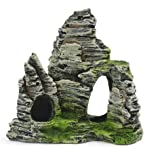 Mountain View Aquarium Rockery Hiding Cave Tree Fish Tank Ornament Décoration