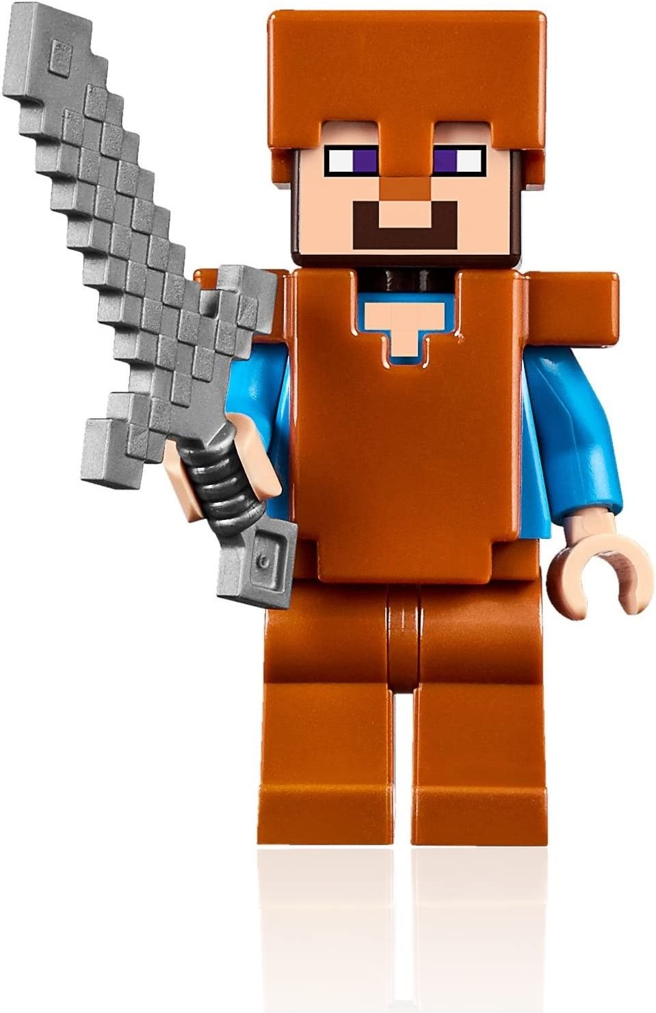 LEGO Minecraft MiniFigure - Steve (with Copper Armor and Helmet) 21132