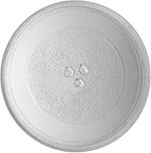 """Genuine WP8172138 Microwave Turntable Glass Tray Plate by AMI PARTS Turntable Size: 12 3/4"""" 12.75''(325mm), Compatible with Whirlpool Replaces 4358641 8172138 8184036"""