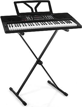 Schubert Etude 300 - Set Teclado, Órgano, Piano eléctrico, Multiple Funciones, Canciones integrada, Altavoz estéreo, Alimentación Cable o Pilas, ...