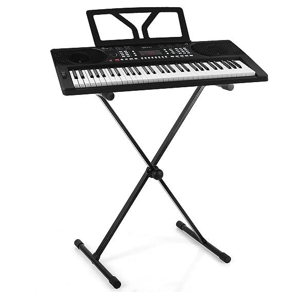 Schubert Etude 300 • Set teclado • Órgano • Piano eléctrico • Multiple funciones • Canciones integrada • Altavoz estéreo • Alimentación cable o pilas ...