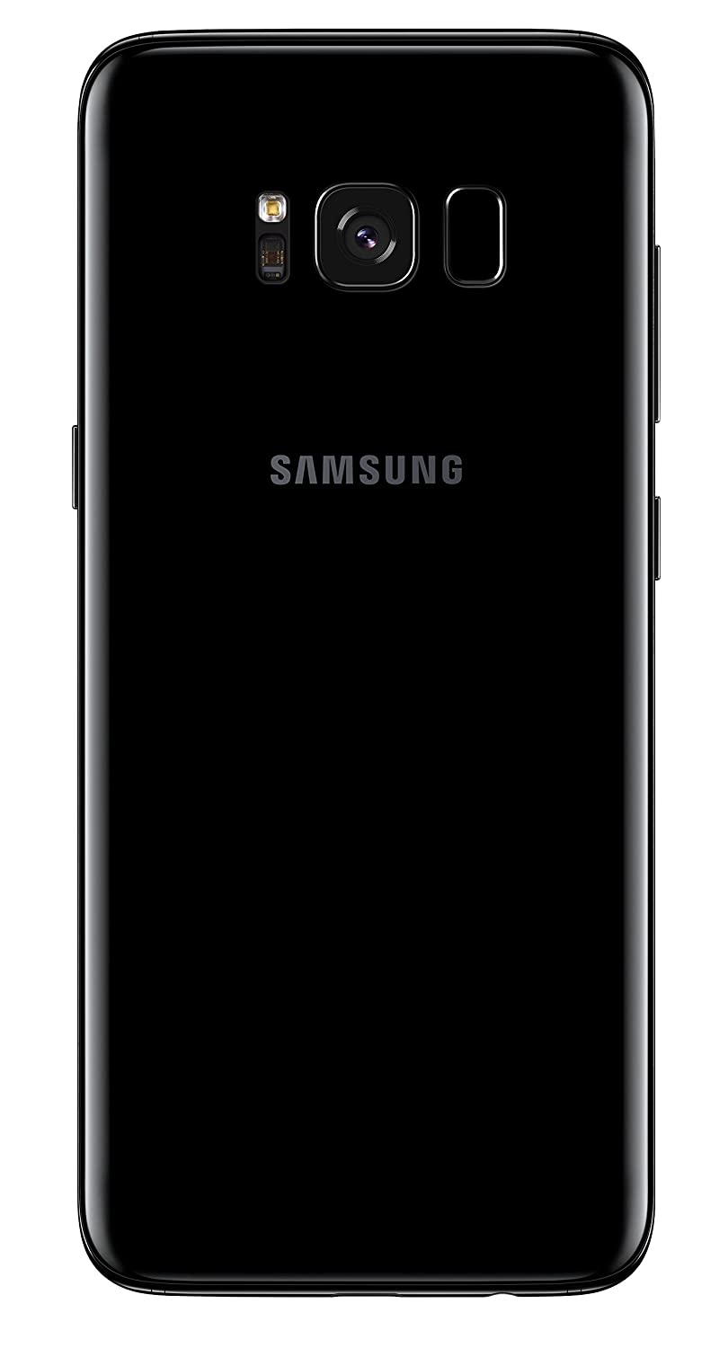 Samsung Galaxy S8 64gb Sim Free Smartphone Midnight Original Clear Cover Casing For Plus Ungu Electronics