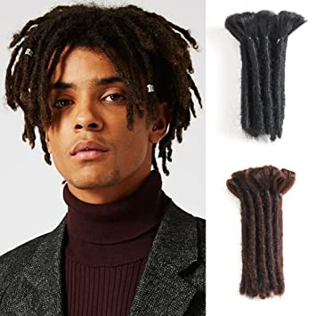 Amazon Com Dreads Handmade Synthetic Dreads Black Dreadlocks